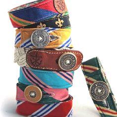 old tie bracelets!