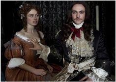 'Versailles', Ovation TV's modern and unique take on the reign of King Louis XIV, stars George Blagden and Alexander Vlahos as royal siblings. Louis Xiv, Versailles Tv Series, Versailles Bbc, Avatar, George Blagden, 17th Century Fashion, The White Princess, Star Actress, Rococo Fashion