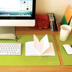Satechi Desk Mat & Mate (Lime)