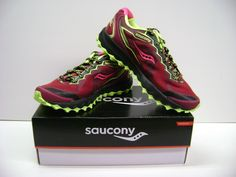 Saucony Peregrine 6 Women's TRAIL Running Shoes Size 11 NEW