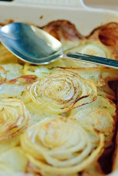 Aardappelen à la Boulangäre - Njam Tv !