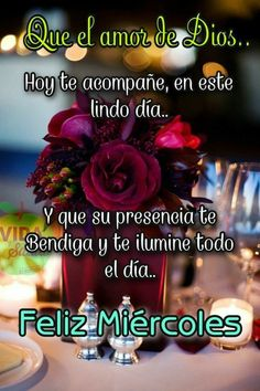 Good Night Messages, Good Night Quotes, Spanish Greetings, Morning Thoughts, Morning Greetings Quotes, Good Morning Gif, New Month, Celebration Quotes, Happy Wednesday