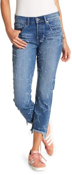 9ae306bec5 Pistola Star Embroidered Straight Leg Jeans  Sizing size fits