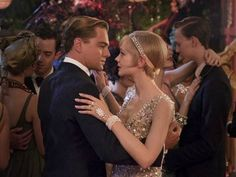 couples halloween costumes - Daisy Buchanan and Gatsby
