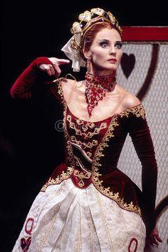English National Ballet's Queen from Alice in Wonderland - Lisa Pavane