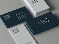 MBS Business Cards | Business Cards | The Design Inspiration