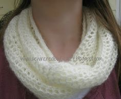 Sew Incredibly Crazy: Infinity Scarf