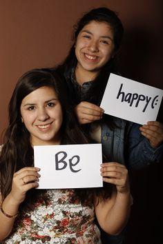 Be, Teresa Garza, Estudiante, UANL, CIDEB, Monterrey, México Happy, CamilaGarza, Estudiante, Monterrey, México
