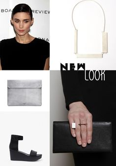minimal!  Rooney Mara, Ring, Footwear!  LOVE love love