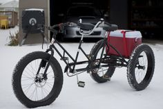 Tandem Trike Fat Bike by Steven Wilke, via Flickr