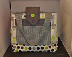 Large Animated Giraffe diaper bag   Lime by TheSewingPassionista, $52.00