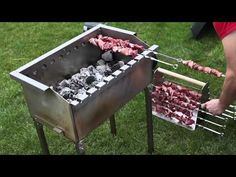 Barbecue Design, Grill Design, Barbecue Grill, Küchen Design, Pizza Oven Outdoor, Outdoor Cooking, Homemade Bbq Grills, Parrilla Exterior, Bbq Stand