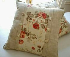 Ideas For Sewing Pillows Patchwork Cushion Tutorial Sewing Pillows, Diy Pillows, Sofa Pillows, Custom Pillows, Decorative Pillows, Cushion Tutorial, Pillow Tutorial, Patchwork Cushion, Quilted Pillow