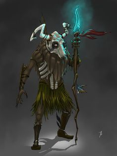 Witch Doctor by ~Flattermonk on deviantART