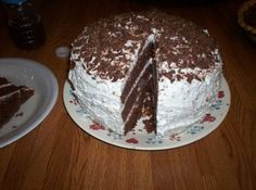 Hershey Candy Bar Cake Recipe: I've been making this cake for a few years now and making it again tonight for Matthew's birthday! Amazing cake!