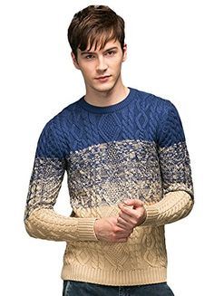 Minibee Men's Rope Figure Color Block Knitted Sweater Pullovers Blue S Minibee http://www.amazon.com/dp/B015C3W7GO/ref=cm_sw_r_pi_dp_EWJ9vb1AK7JNZ