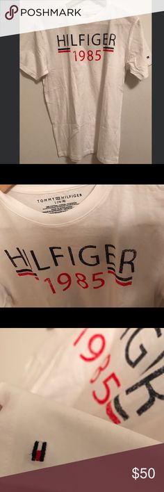 Tommy Hilfiger T-shirt brand new Boys size L(18-20).   I think it's women size M Tommy Hilfiger Tops Tees - Short Sleeve