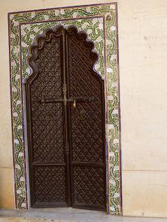 Ornate door in Jaipur | Flickr - Photo Sharing!