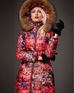 Betsey Johnson Coat Quilted Belted Long Puffer - Coats - Women