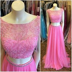 Long Prom Dress, Pink Prom Dress, Charming Prom Dress, Elegant Prom Dress, Cap…