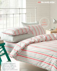 The Candy Stripe bedroom