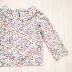 Liberty of London Blouse With PeterPan Collar | Handmade Clothing Ltd on Etsy