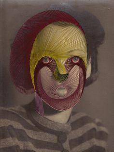 Maurizio Anzeri's embroidery on vintage photos
