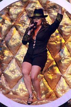Jenni Rivera! She always rocked the hats!!