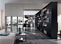 505 Bookshelves and multimedia - Molteni