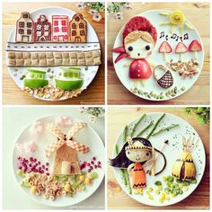 Cool Food Art No.1: Mother of the Year. Samantha Lee Art