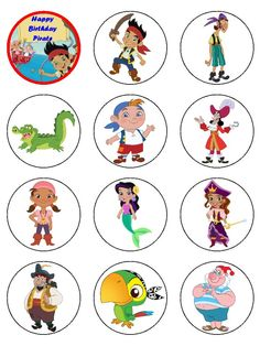 jake and the neverland pirates printables | Price: £ 5.00