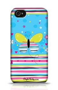 Butterfly Love Apple iPhone 4 Phone Case
