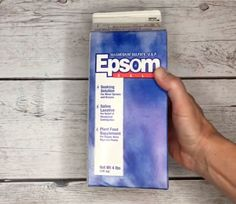 Epsom Salt for Your Plants - Inside and Out