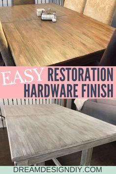 Diy Furniture Redo, Diy Furniture Projects, Whitewashing Furniture, Furniture Design, How To Whitewash Furniture, Restore Wood Furniture, Rustic Painted Furniture, Furniture Refinishing, Furniture Hardware