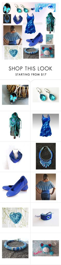 """""""Blue eyes"""" by nanitas23 ❤ liked on Polyvore"""