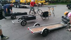 Bike Trailer Cargo Bug Out Hunting Backpack
