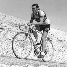 Tour de France 1955. 11^Tappa, 18 luglio. Marsiglia > Avignone. Mont Ventoux. Louison Bobet (1925-1983)