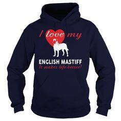 I love my English Mastiff