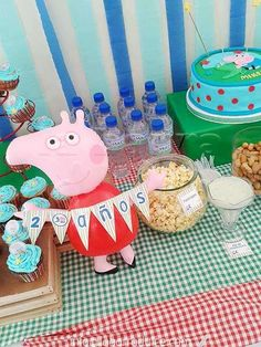 Peppa Pig Birthday Party Food!  See more party ideas at CatchMyParty.com!