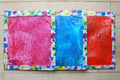 Holly's Arts and Crafts Corner: DIY: Discovery Bottle (Part 2) and Gel Board