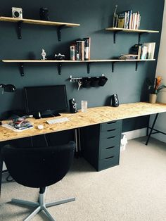 Paint Colors Home Office Design Ideas. Therefore, the demand for home offices.Whether you are intending on adding a home office or remodeling an old area into one, below are some brilliant home office design ideas to assist you get going.