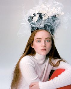 Sadie Sink from Stranger Things photographed for DAZED Magazine (Winter 2017)