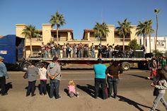 Revolucion parade in Mexicali, Baja.