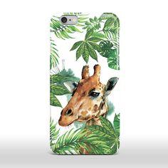 iPhone Case Animal Case Summer iPhone Case iPhone 6 Case Giraffe iPhone 5s Case…