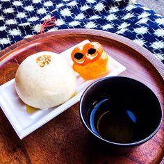 Tofu Manju! Elegant Manju! Yum #tofu #mizumushikun #tofumanju #manju #japan #kyoto #yummy