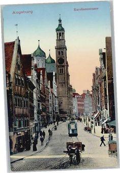 Augsburg Augsburg Karolinenstrasse * Augsburg