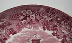 Wedgwood Etruria Transferware Underplate Ferrara Scenic Purple / Plum / Mulberry Transferware For consideration I am offering this beautiful plate in the pattern entitled Ferarra from England's famed