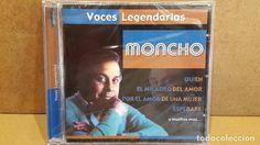MONCHO. VOCES LEGENDARIAS. CD / CRIN - 2001. 12 TEMAS / PRECINTADO.