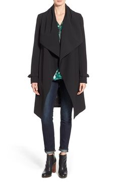 Diane von Furstenberg 'Raquel' Long Wrap Coat available at #Nordstrom