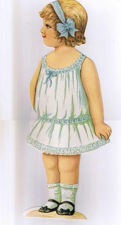 Lady Anne paper doll